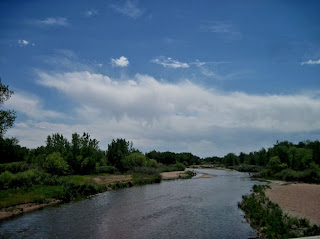 The Platte River near Platteville