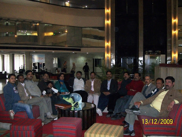 Planning Meeting at Centaur Hotel, Delhi