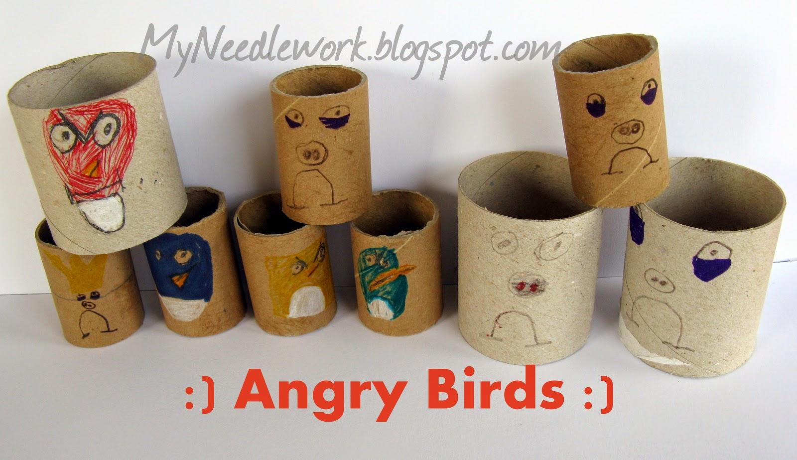 Птички Angry Birds (енри бердс)