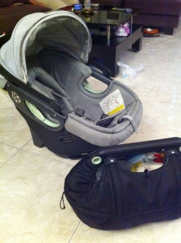 used Orbit Baby G1 stroller cum car seat | Mama Kids Junction