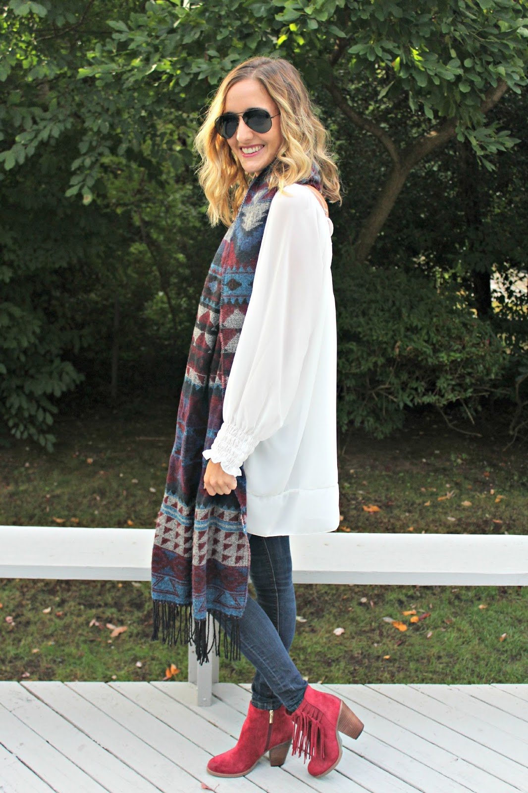 blanket scarf for fall