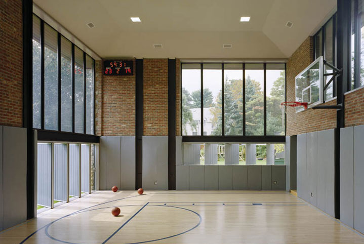Home design minimalist modern private gym space building