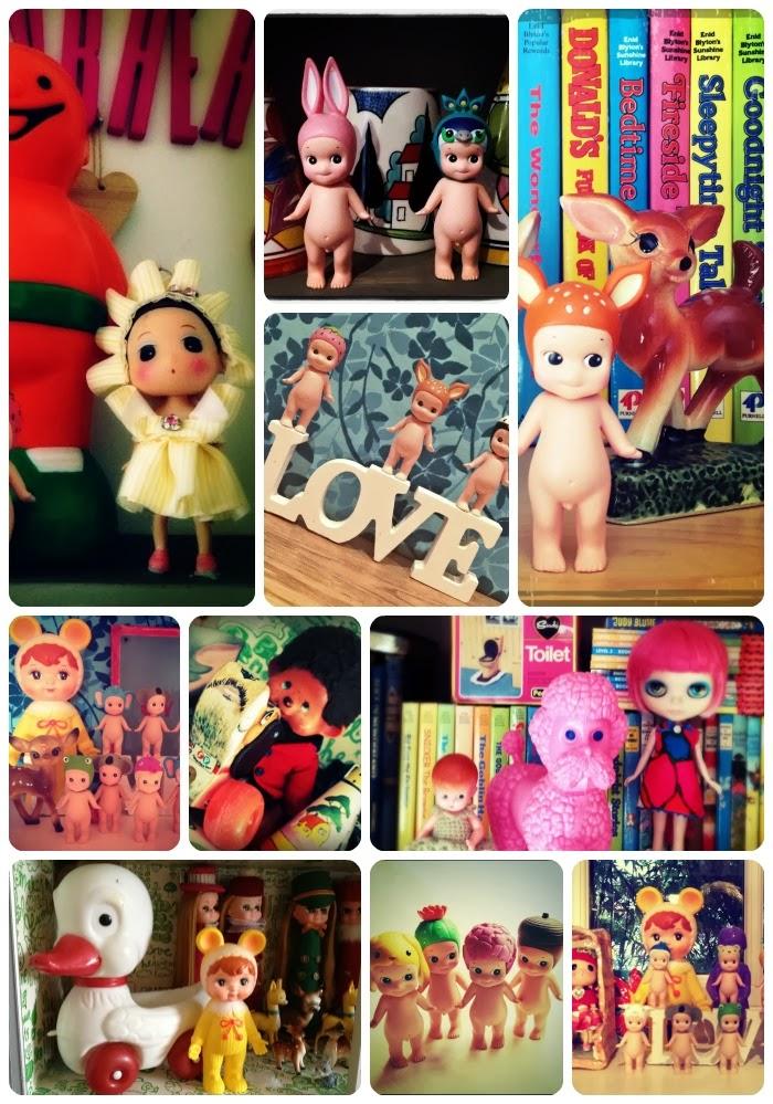 Kitsch deer, Sonny Angel, Blythe dolls
