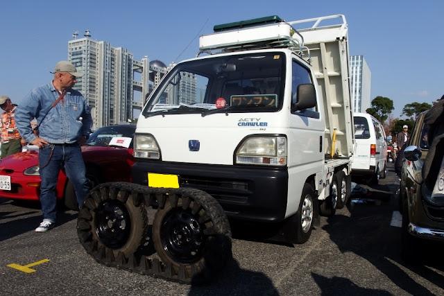 Honda Acty Crawler, sześciokołowe samochody