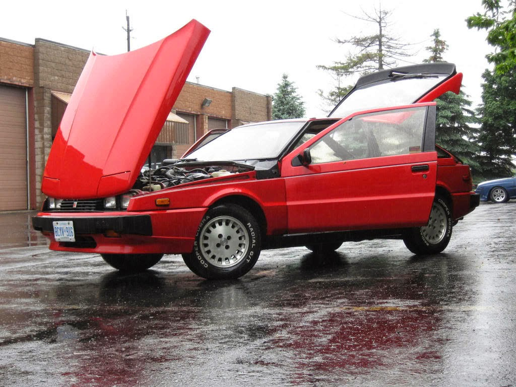 Daily Turismo Thursday Twister Forward Hinged Hood Roundup Nissan Datsun 300zx Turbo Exhaust Diagram Category The Giugiaro Designed Isuzu Impulse Is One Of Those Funky Classics With A That Will Never Fly Up And Obscure Your View On Freeway
