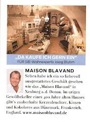 """Maison Blavand in der Zeitschrift """"Für Sie"""""""