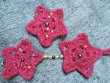 Red Christmas Star Decoration