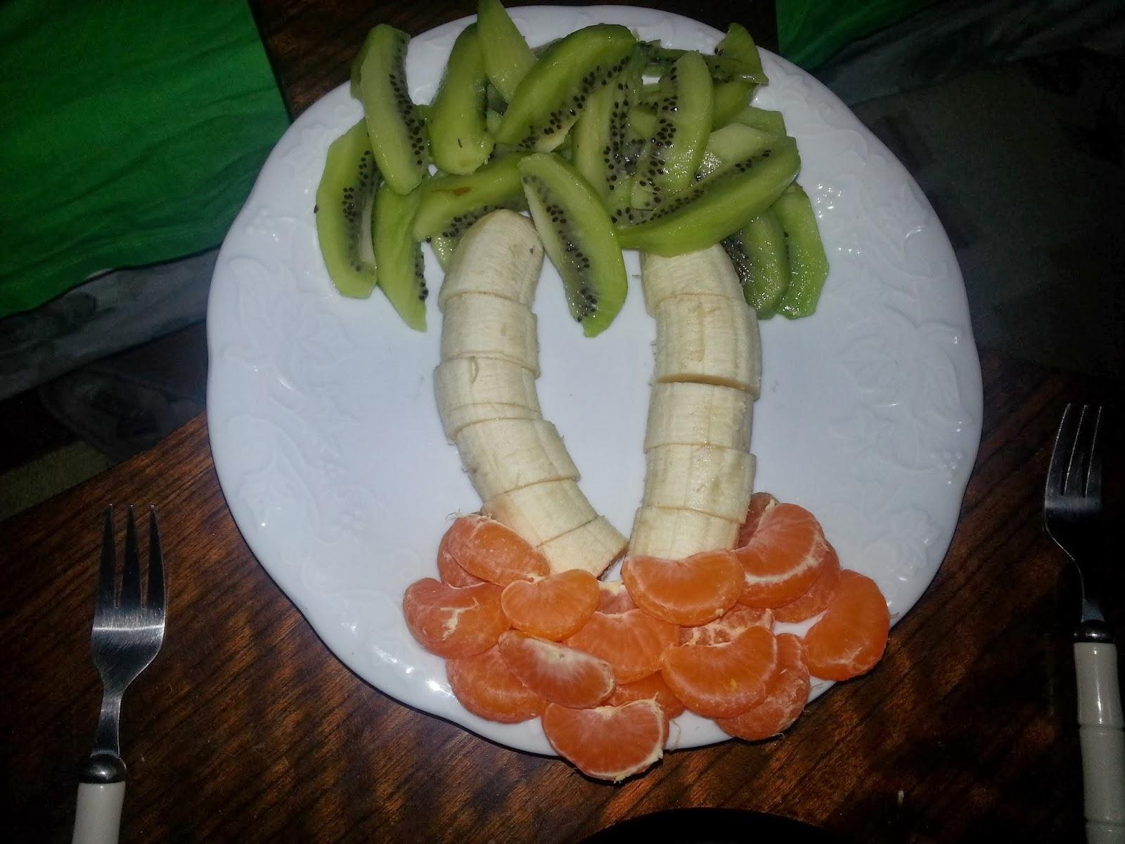 palmiye meyve tabağı