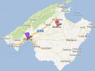 Map Majorca