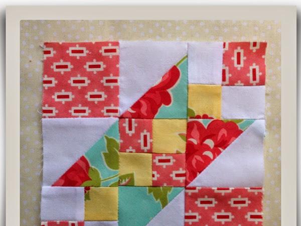 Chatelaine- Free BOW Sampler Quilt Block 2