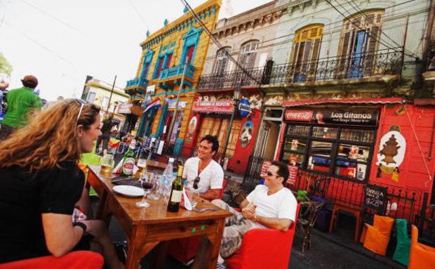 La Boca, tradicional reduto do tango em Buenos Aires (Foto: Getty Images)