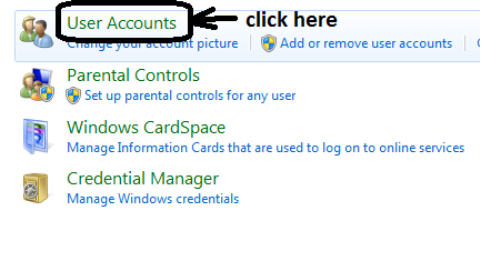 how to set a password when computer sleeps windows 7