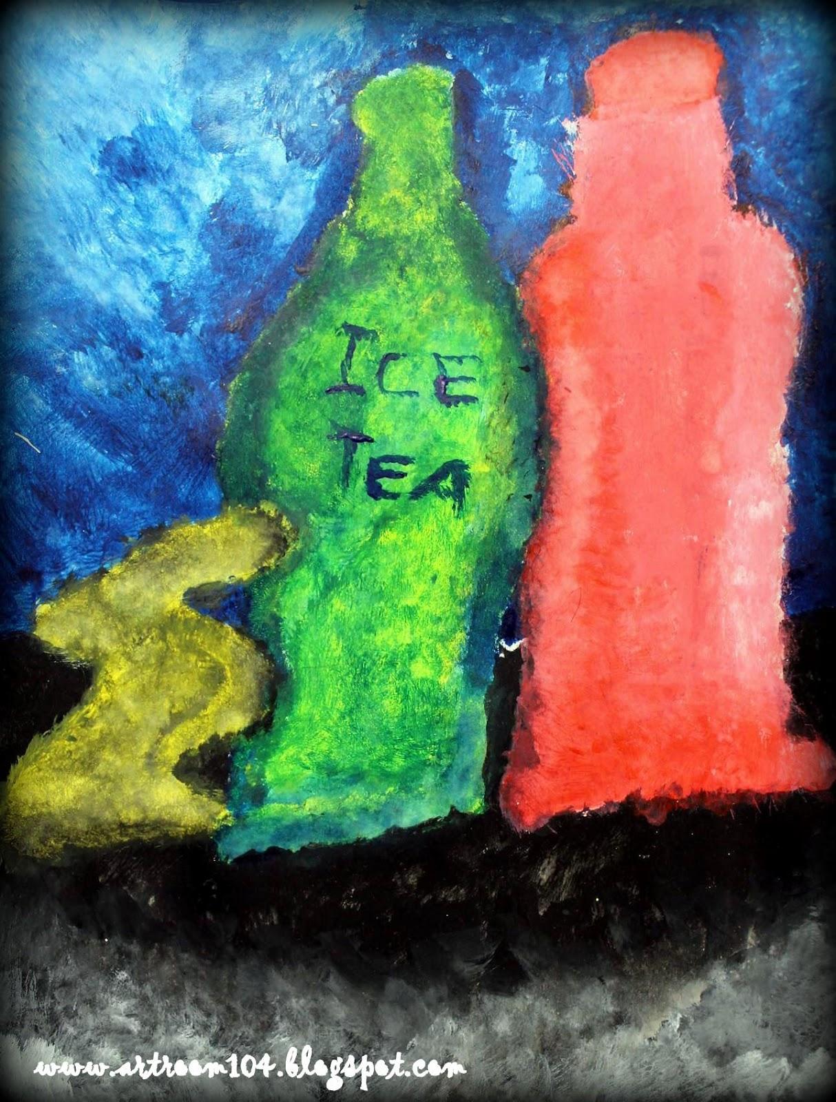 Art Room 104: 4th Grade Pointillism Still Life Paintings