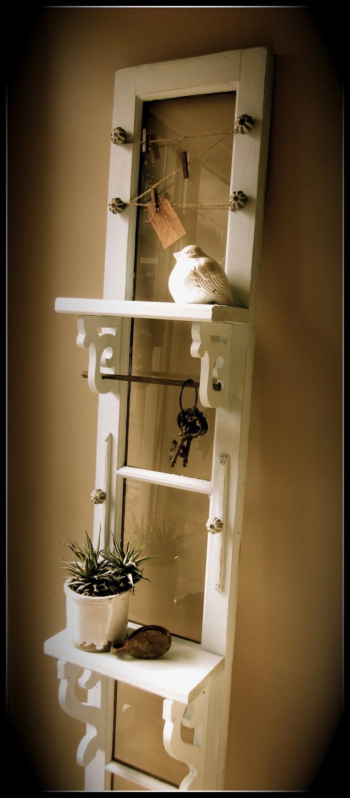 homeroad garage door turned entry shelf. Black Bedroom Furniture Sets. Home Design Ideas
