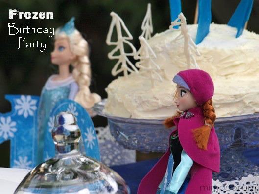 Cumpleaños frozen sencillo. Frozen Birthday party
