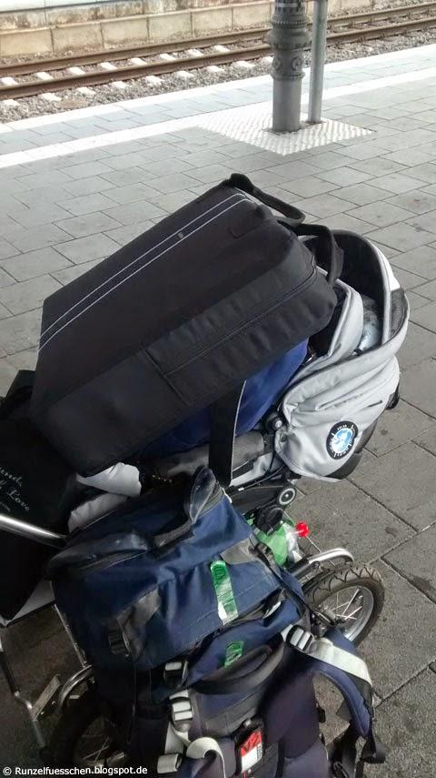 Mit Baby unterwegs - mit Baby verreisen - Runzelfuesschen