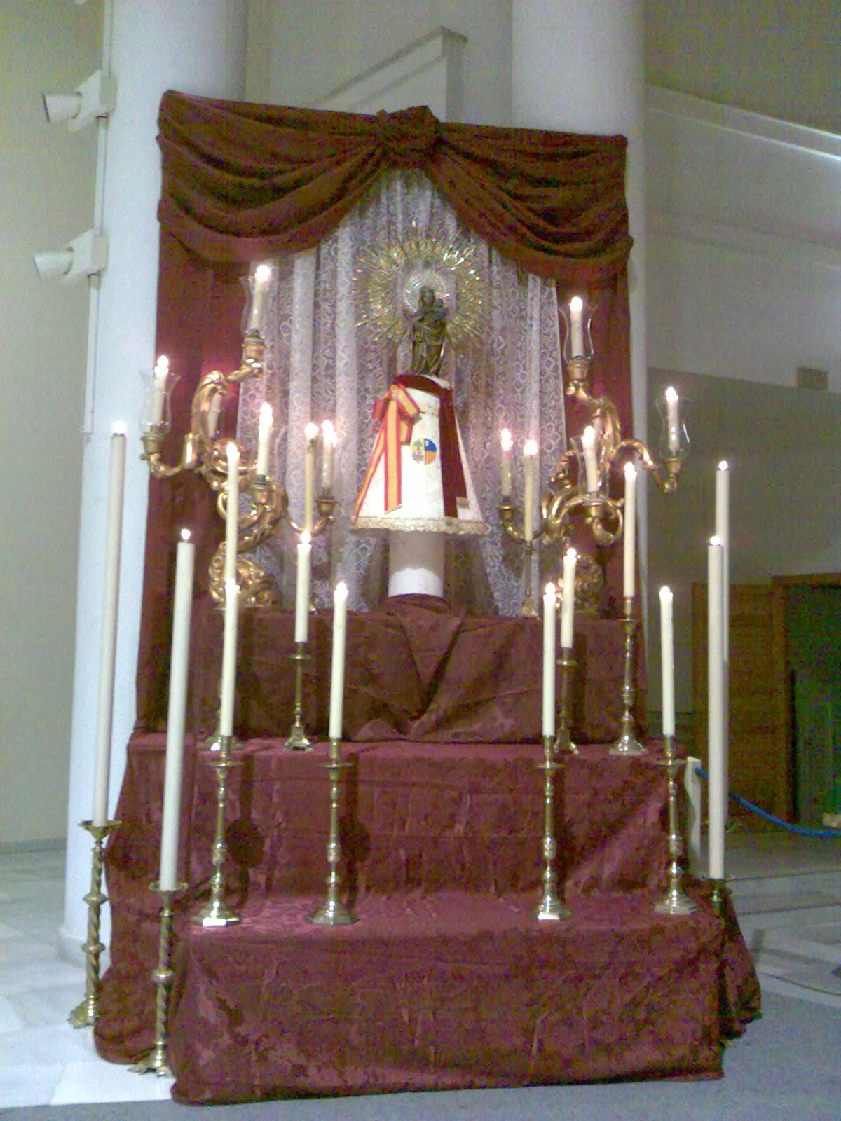 Triduo virgen del Pilar 2009