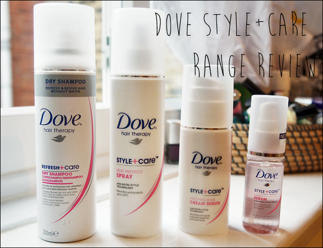 Dove Style and Care Hair Care Range Review