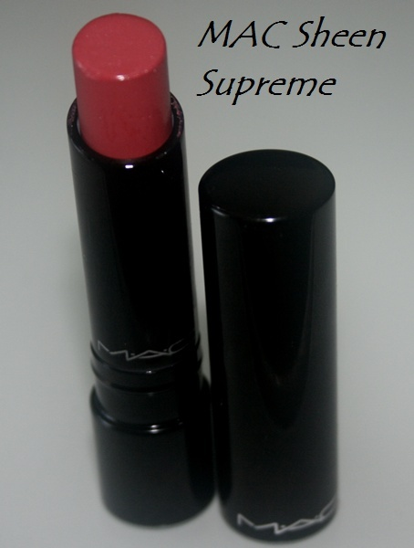 MAC Sheen Supreme Lipstick in Ultra Darling