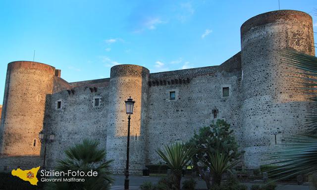 Normannen Schloss Castello Ursino in Catania