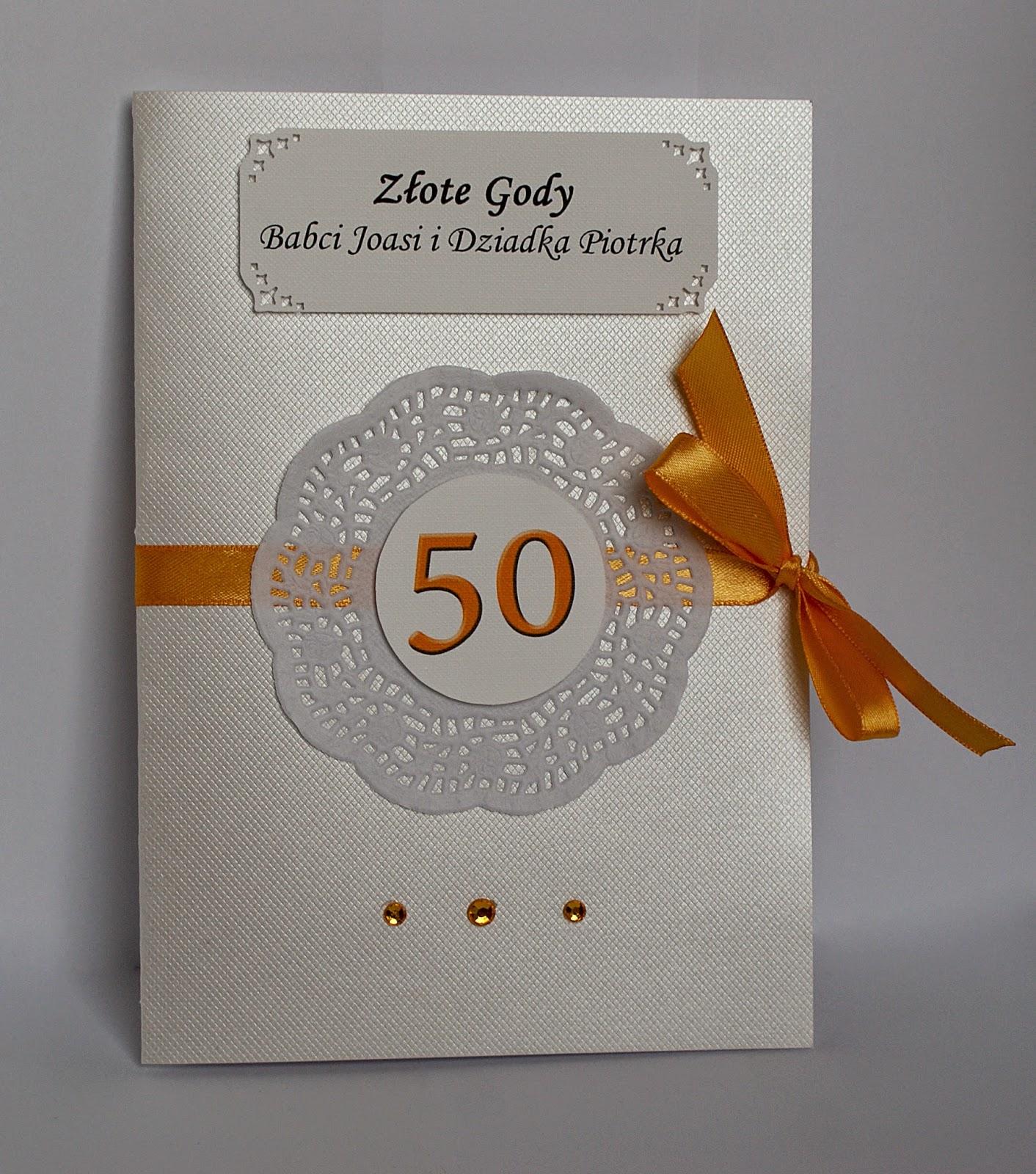 OMP 06- Kartka na 50 rocznicę ślubu