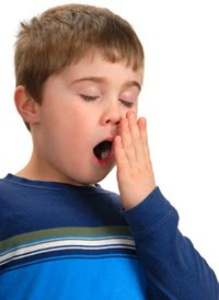 yawning not contagious for children with Children with autism, who often have difficulty expressing empathy, so the recognition that they do not experience contagious yawning is further evidence to support that yawning is linked to our ability to empathize.