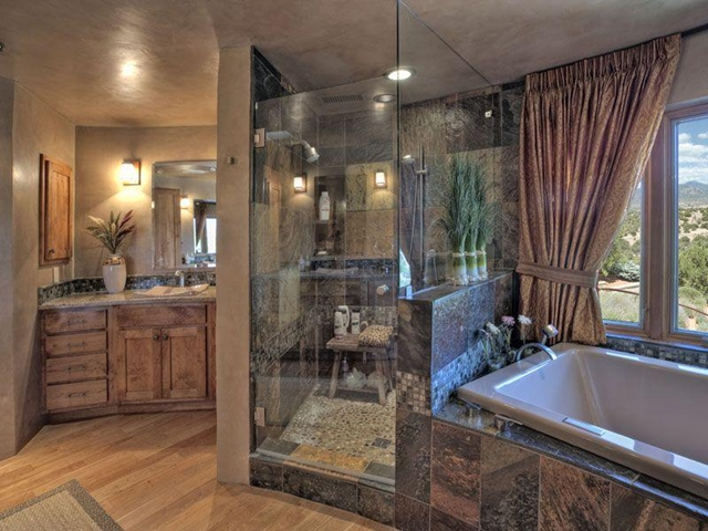 Photo of well designed bathroom