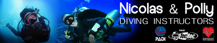 Nicolas and Polly - PADI Dive Instructors