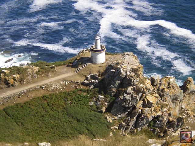 Faro en Islas Cíes, Vigo, Pontevedra