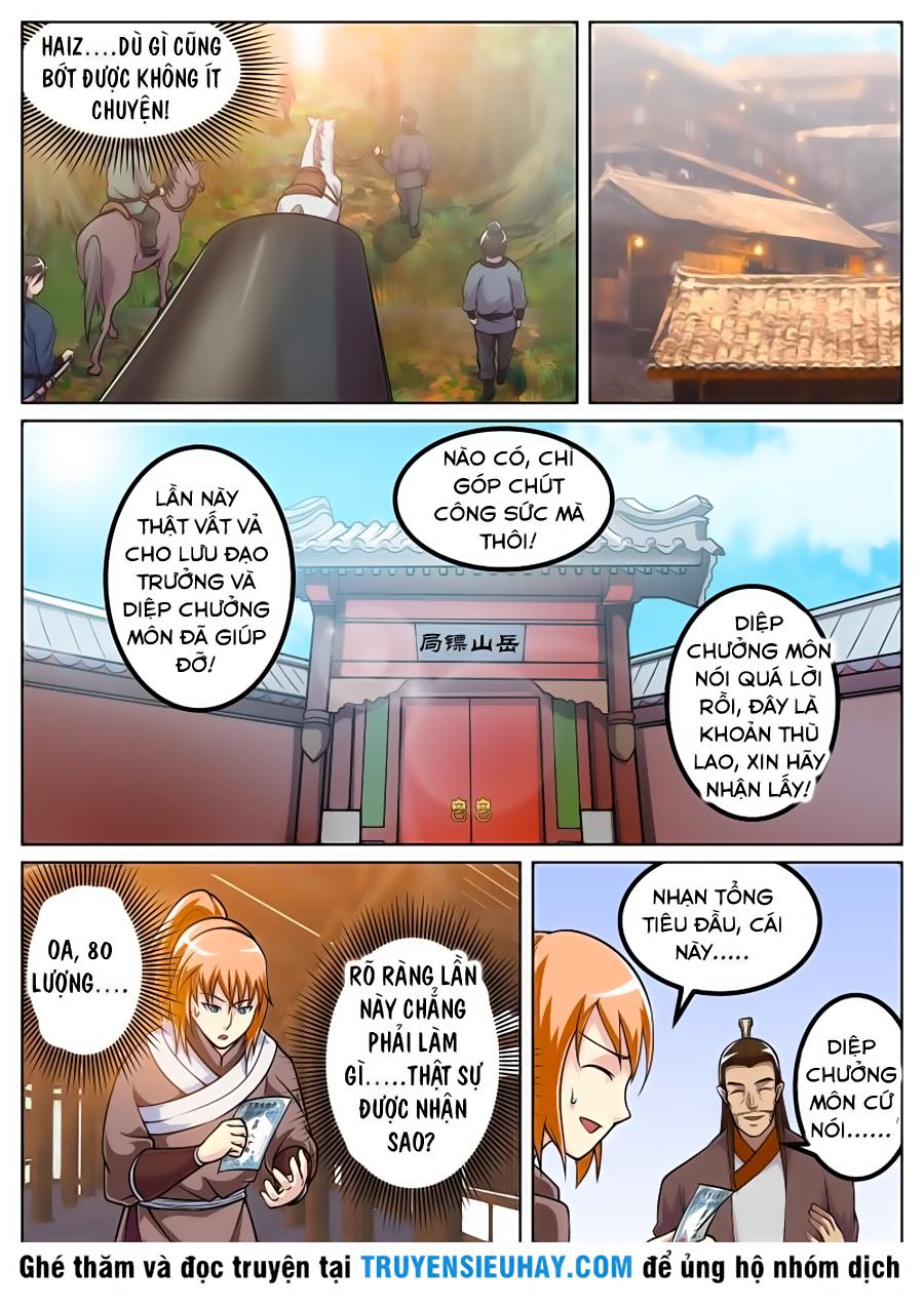 Sử Thượng Đệ Nhất Chưởng Môn chap 32 - Trang 4