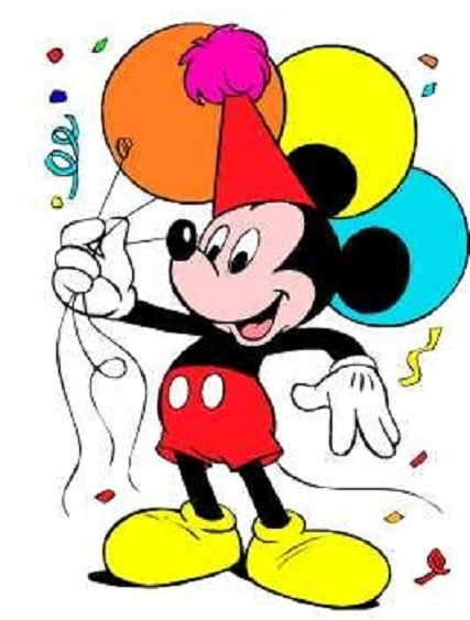 Mickey Mouse Birthday Clip Art