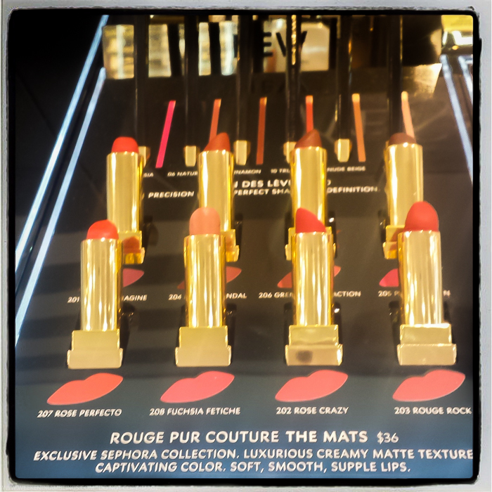 YSL Yves Saint Laurent Rouge Pur Couture The Mats Lipsticks Swatches - Fall 2015 Makeup