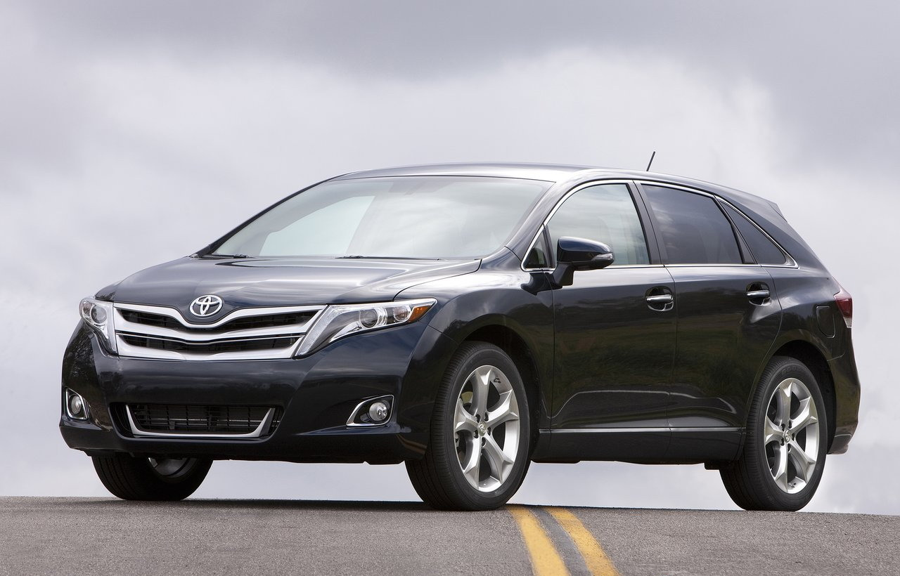 The 2013 Toyota Venza crossover currently offers enhanced exterior