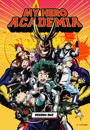 Boku no Hero Academia - 1ª Temporada Completa Desenhos Torrent Download capa