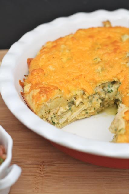 Bitchin' Kitchen: Chicken Quesadilla Pie