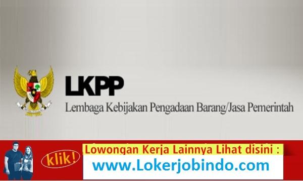 Loker Terbaru Staf Pendukung IT LKPP