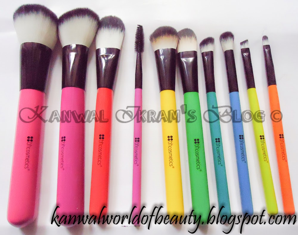 BH-Cosmetics Pop Art Brush Set