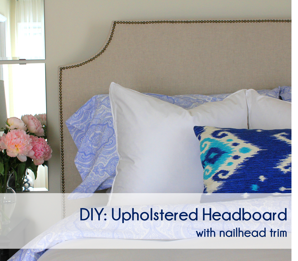 Diy Fabric Headboard Tutorial Diy Upholstered Headboard