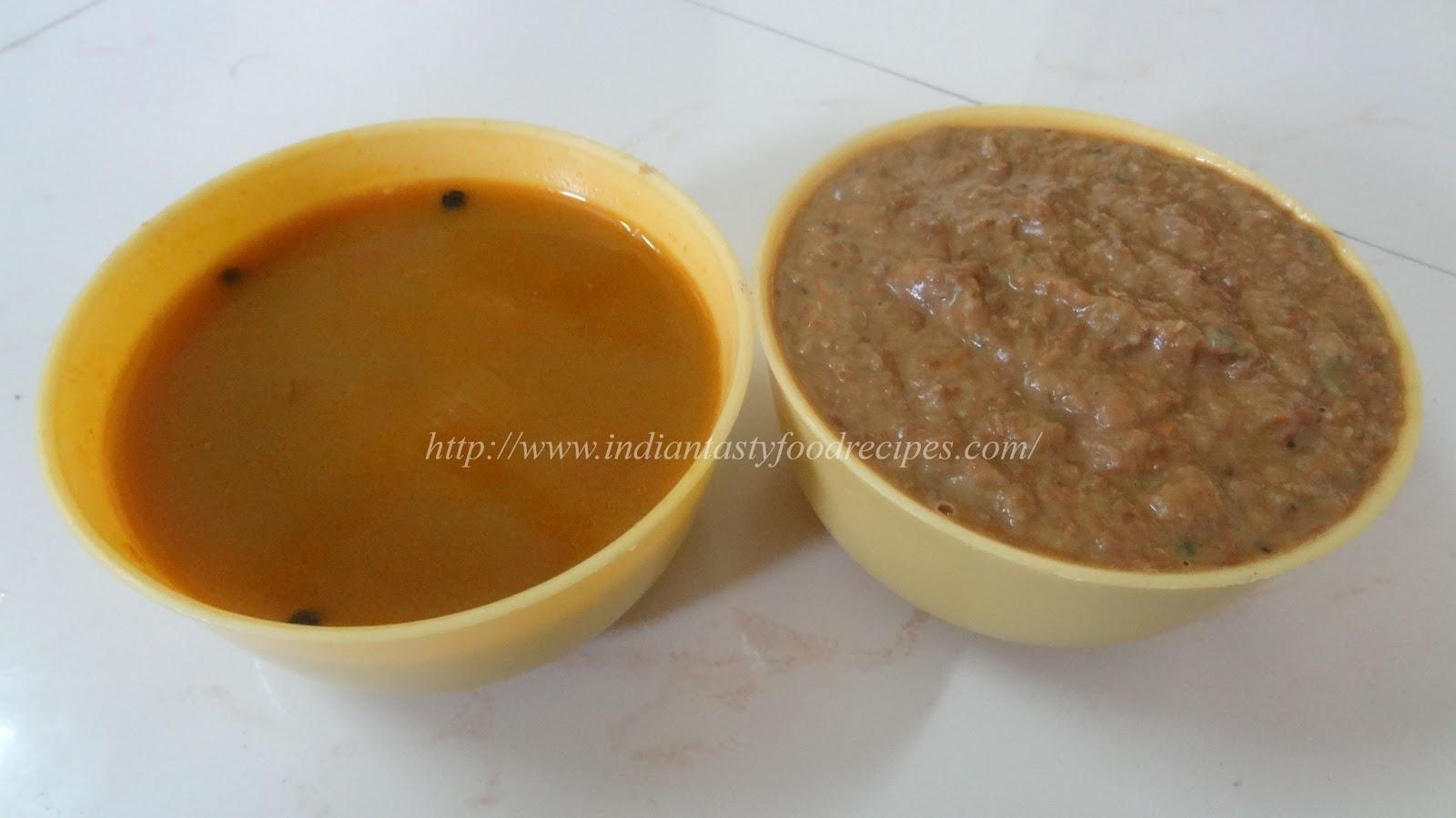 Indian tasty food recipes horse gram or kollu paruppu chutney and rasam forumfinder Gallery