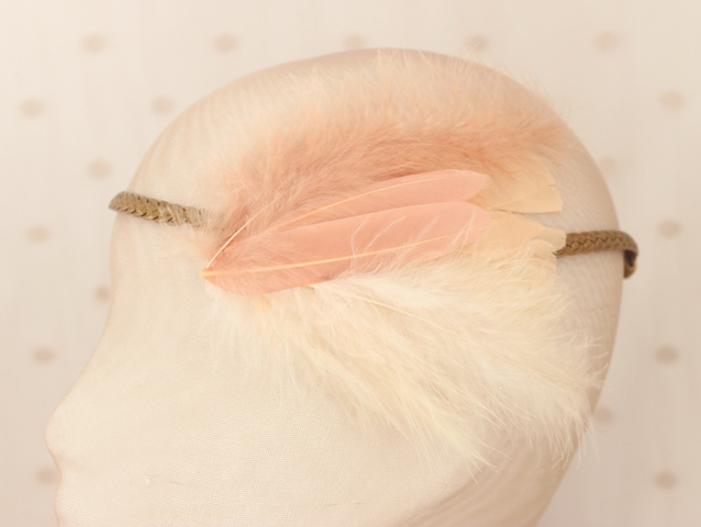 Colección La Cesta - Trenzada Nude Pluma
