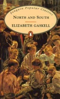 Book cover - North and South by Mrs Elizabeth Gaskell