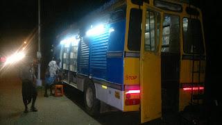 ncbh bus, ncbh, new century book house, book exhibiton, malartharu, pudukkottai