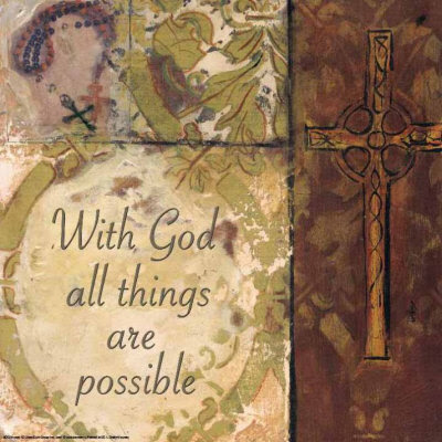 Cross With God all things are possible