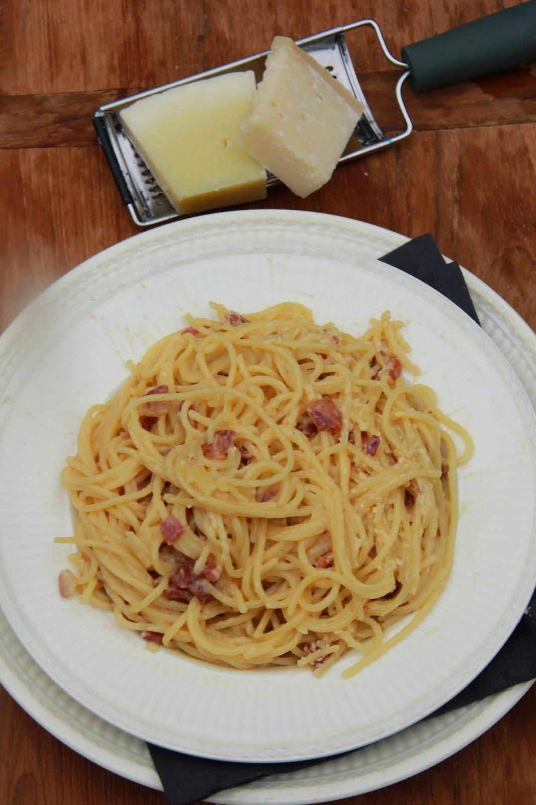 Spaghetti alla Carbonara - www.desmaakvancecile.com