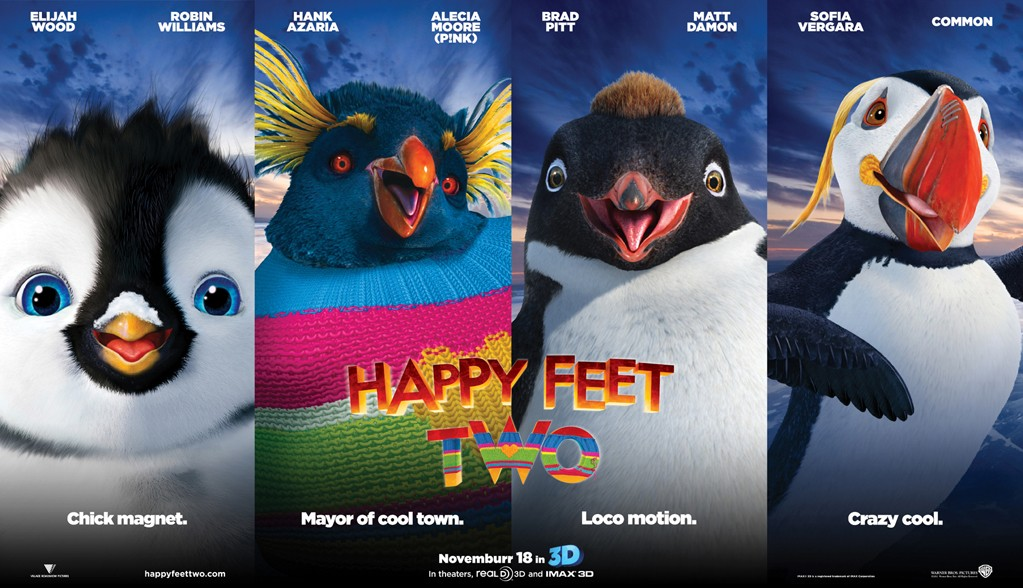 happy feet 2 teaser trailer