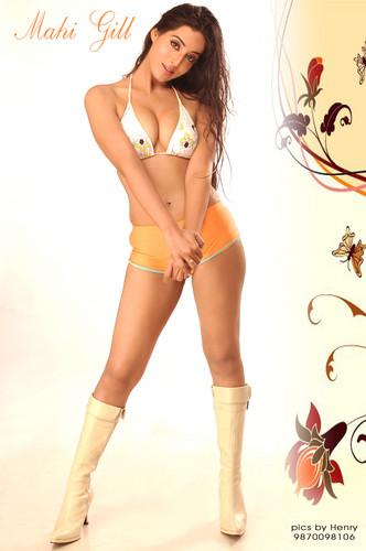 mahie gill hot boob