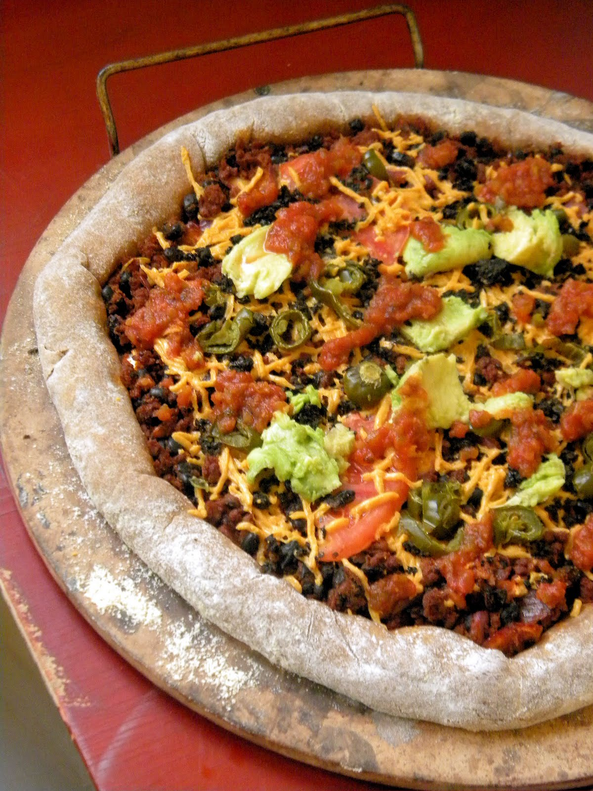 meet the shannons an informal letter to a vegan stuffed crust mexican pizza recipe included. Black Bedroom Furniture Sets. Home Design Ideas