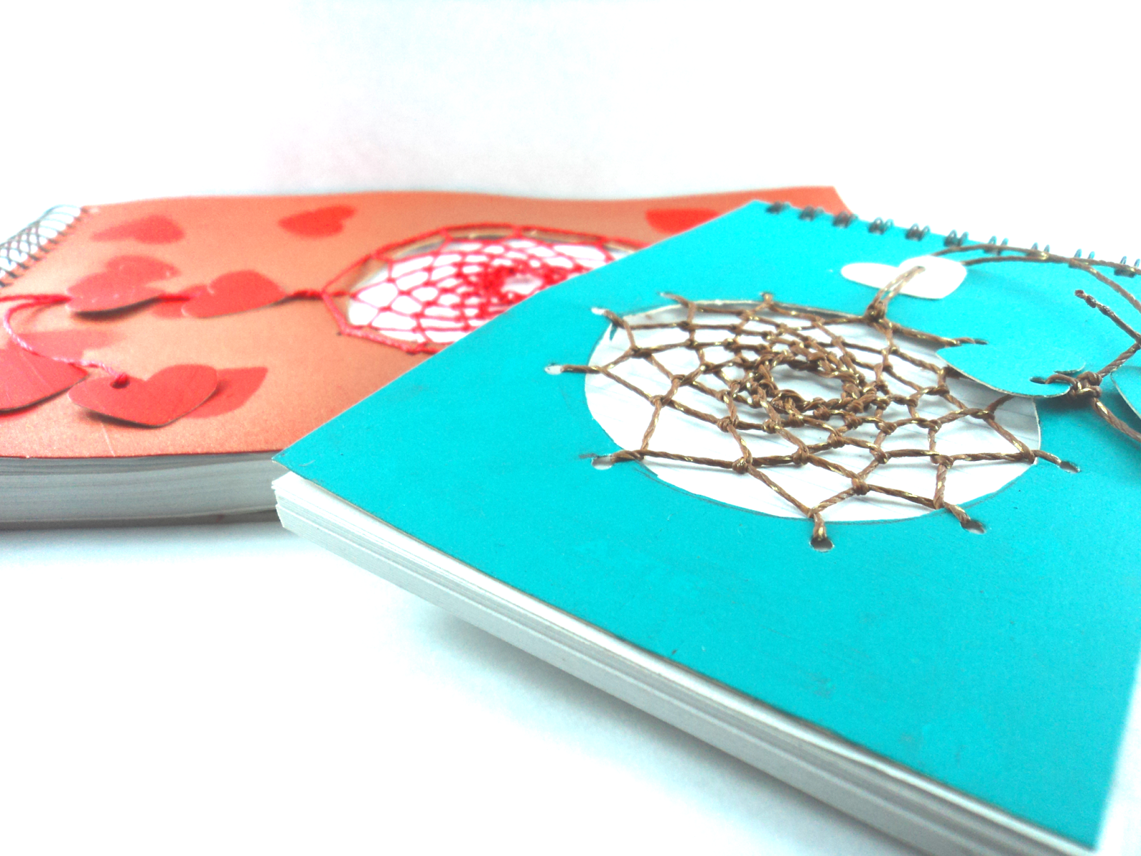 libretas, agendas, atrapasueños, dreamcatcher