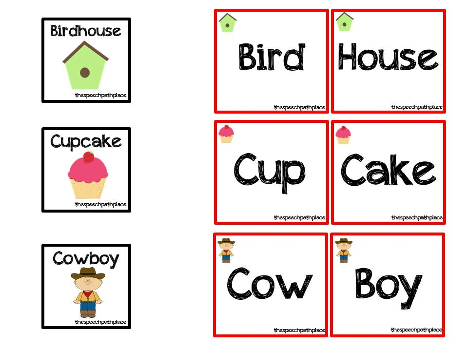 Regular Two Syllable Words