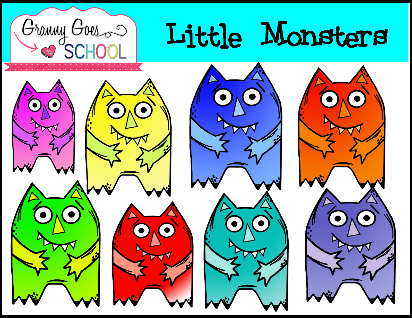 http://www.teacherspayteachers.com/Product/Little-Monsters-Clip-Art-1446044
